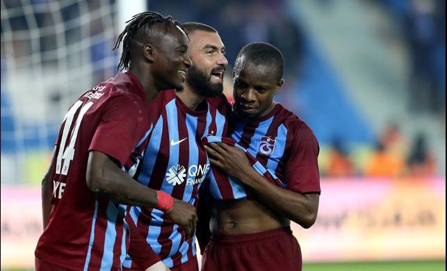 Trabzonspor golcüleriyle güldü!