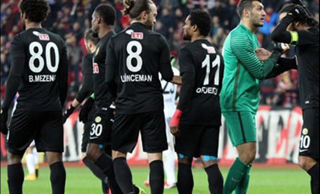 Eskişehirspor - Gaziantepspor: 7-0