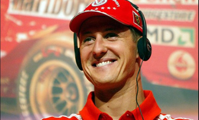 Schumacher, 45 kiloya düştü ve 15 cm kısaldı!