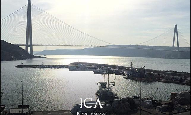 Yavuz Sultan Selim Köprüsü, mavi ve turuncu ışıklarla aydınlanacak!
