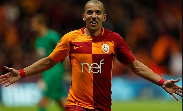 Galatasaraylı Sofiane Feghouli'ye sürpriz destek!