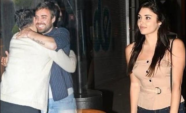 Hande Erçel ve Murat Dalkılıç gece gezmesinde