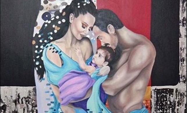 Demet Akalın'ın tablosu sosyal medyayı salladı