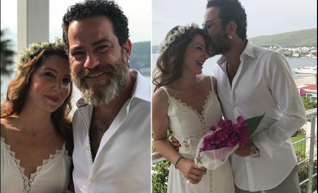 Oyuncu Burak Demir evlendi
