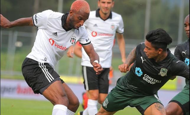 Beşiktaş'tan gollü prova! Krasnodar'ı rahat geçtiler…