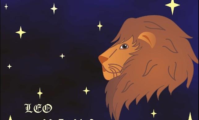 Güneş Aslan burcunda