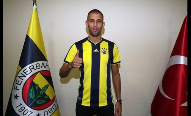 Fenerbahçe Slimani'yi resmen açıkladı!
