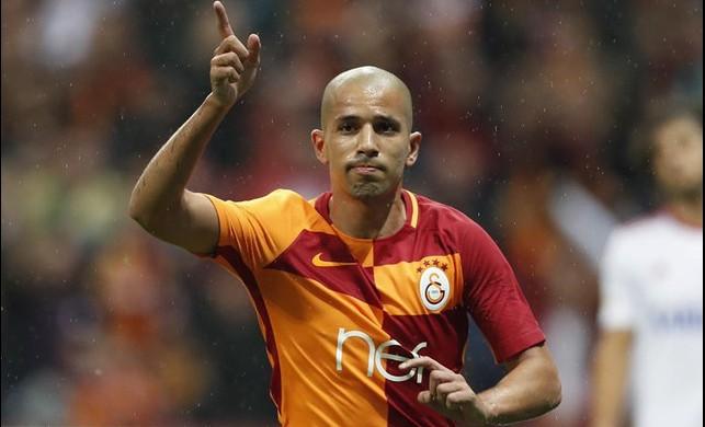 Galatasaray'dan ayrılıyor! Feghouli'ye sürpriz talip...