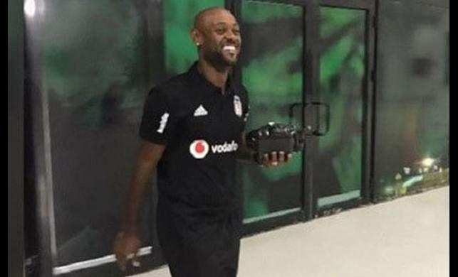 Vagner Love Beşiktaş taraftarının tepkisini çekti!