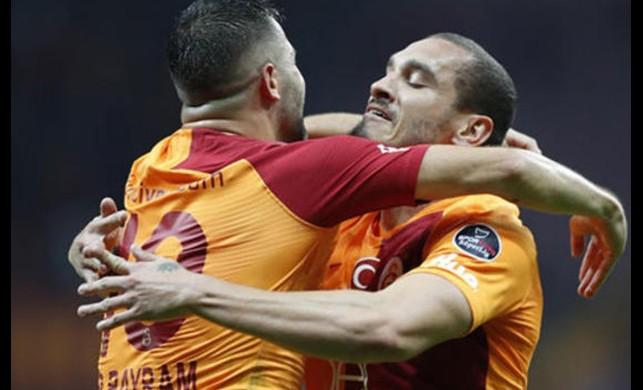 Galatasaray, Erzurumspor'u tek golle geçti!