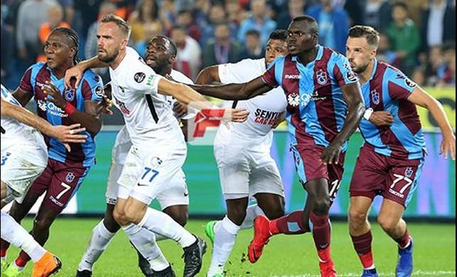Trabzonspor da puan kaybı modasına uydu!