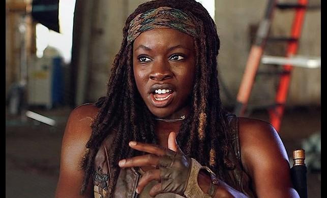 Danai Gurira 'The Walking Dead'e veda ediyor
