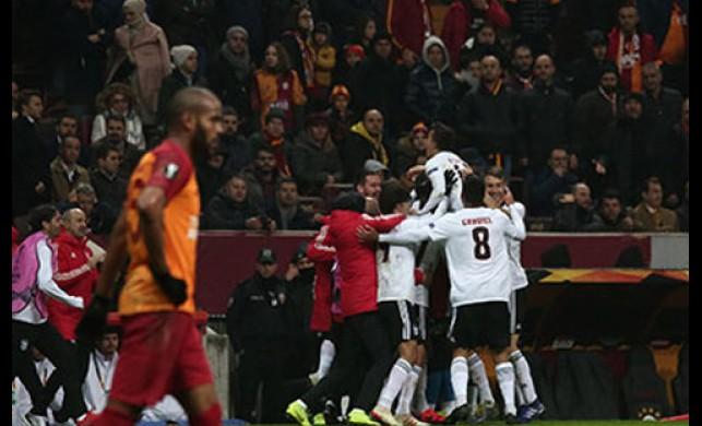 Galatasaray 1-2 Benfica maç sonucu
