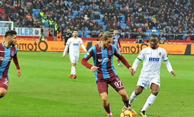 Trabzonspor - Aytemiz Alanyaspor: 0-2