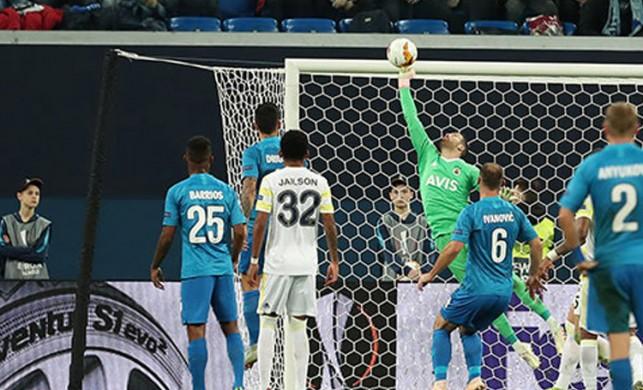 Fenerbahçe Avrupa Ligi'ne veda etti | Zenit 3-1 Fenerbahçe MAÇ SONUCU