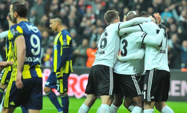 Vodafone Park'ta unutulmaz maç! Beşiktaş:3 - Fenerbahçe:3