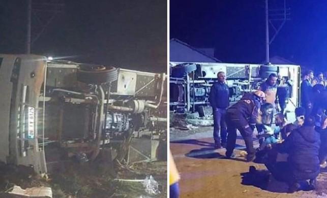 Ankaragücü taraftar otobüsü kaza yaptı! 2 kişi yaşamını yitirdi