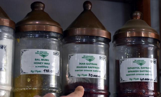 Dünyanın en pahalı baharatı İran safranının kilogramı 70 bin liradan satılıyor
