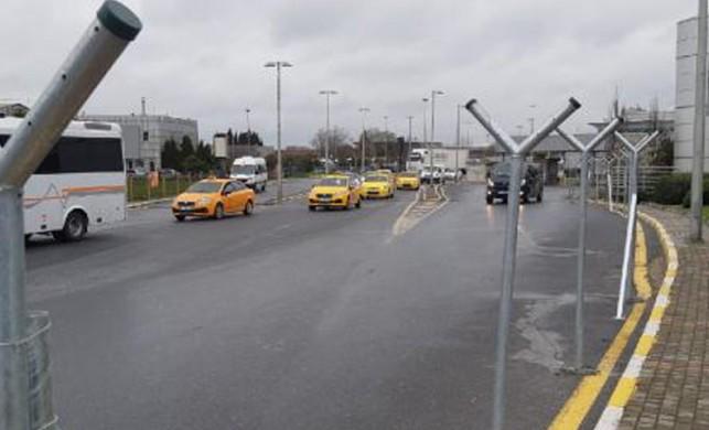 Atatürk Havalimanı'nda tel örgülü önlem