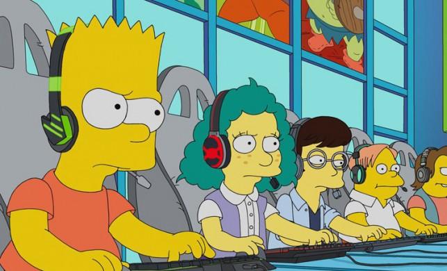 The Simpsons'ın Bart'ı da espora başladı!