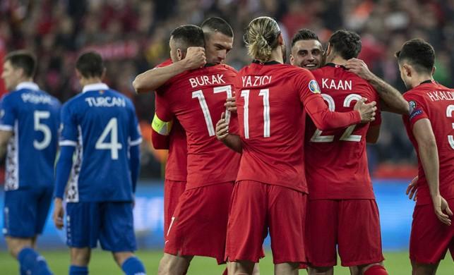 Türkiye gruplarda kaçıncı sırada? EURO 2020 H Grubu puan durumu