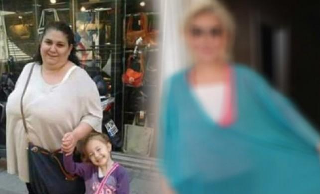 Kızı için 1 yılda 99 kilo birden verdi!