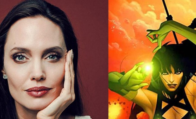 Angelina Jolie süper kahraman oluyor!