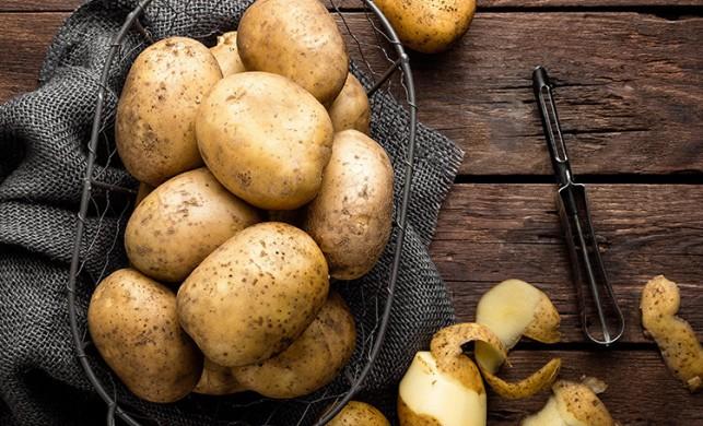 Patates kabuğunu sakın çöpe atmayın!