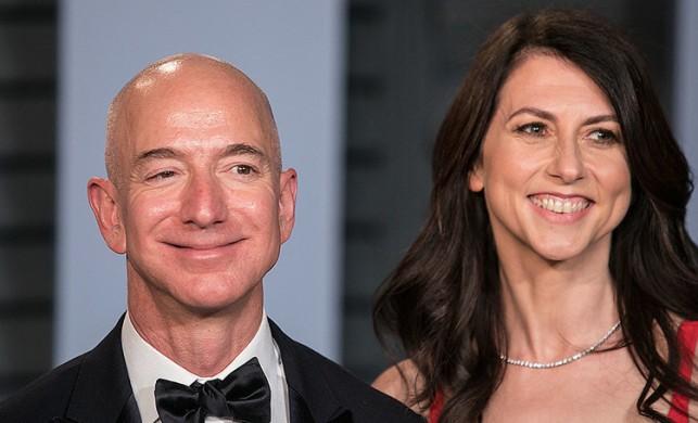 Jeff Bezos'a boşanma davası 35 milyar dolara patladı!