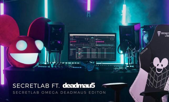 Secretlab, DJ Deadmau5'a sponsor oldu!