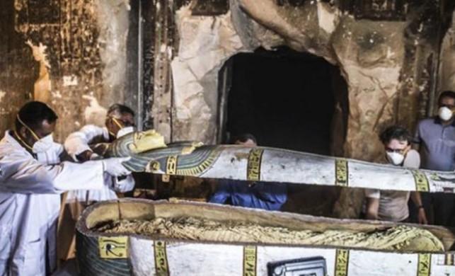4 bin yıllık lahit Mısır'da canlı yayınla açılacak!