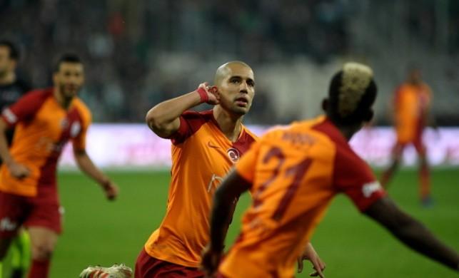 Galatasaray'ın golü VAR ile iptal edildi!