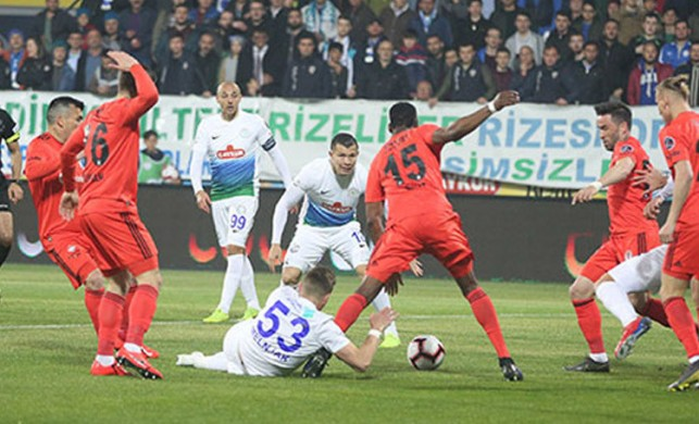 Çaykur Rizespor - Beşiktaş: 2-7