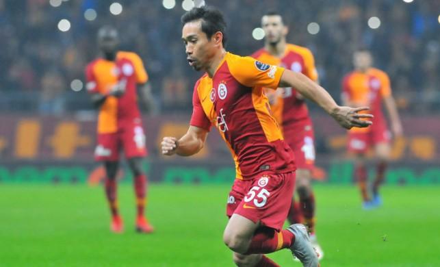 Galatasaray'da Yuto Nagatomo sürprizi!