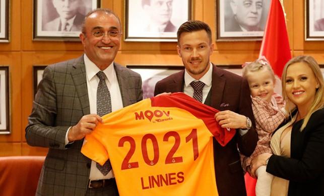 Galatasaray, Martin Linnes'in sözleşmesini uzattı!