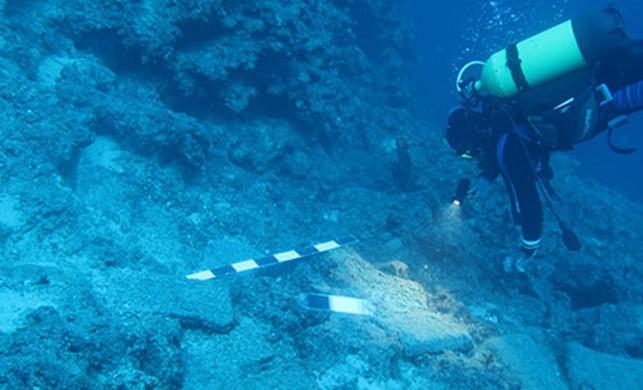 Antalya'da bulunan batıktaki 74 bakır külçenin, dünyada 5 örneği var