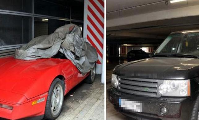 Atatürk Havalimanı otoparkında unutulan araçlar şaşırttı