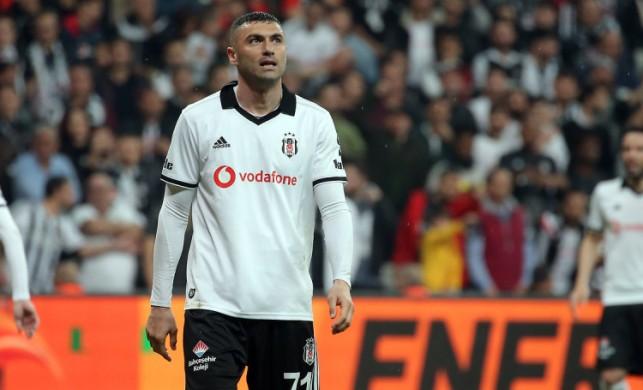 Beşiktaş yönetiminden Burak'a jest!