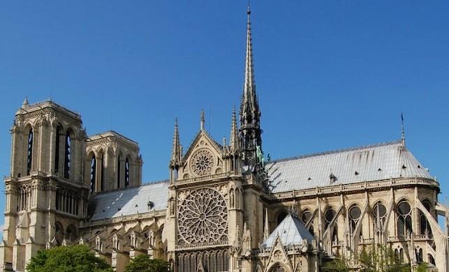 Notre Dame Katedrali kim tarafından, kaç yılında yapıldı?