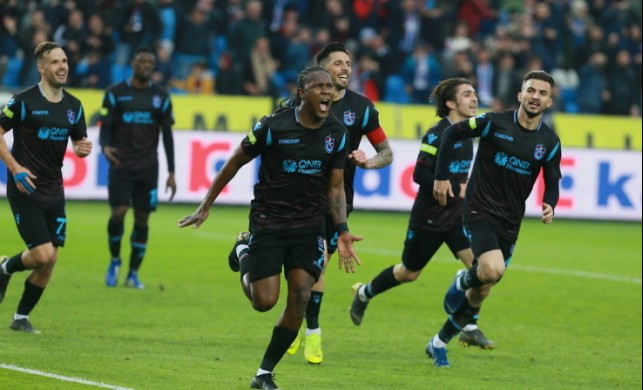 Trabzonspor seriyi 5 maça çıkarttı!