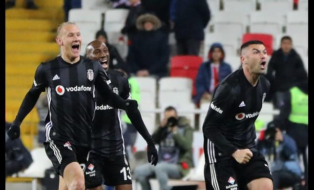 Beşiktaş seriye başladı! Üst üste 5. galibiyet...