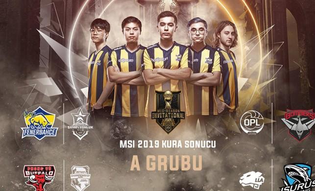 1907 Fenerbahçe'nin MSI rakipleri belli oldu