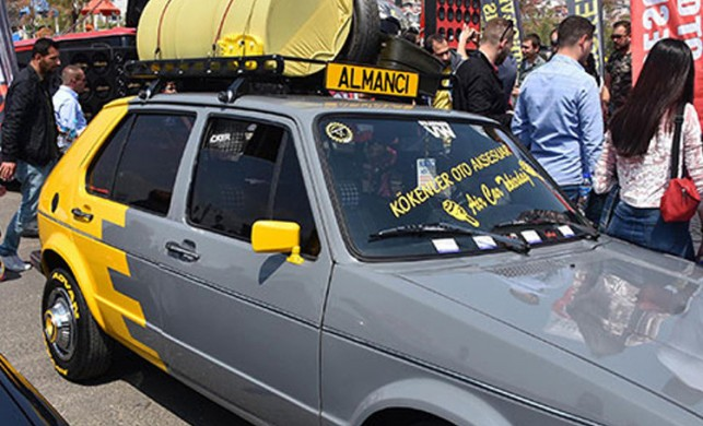 Modifiye araç tutkunları Tekirdağ'da buluştu