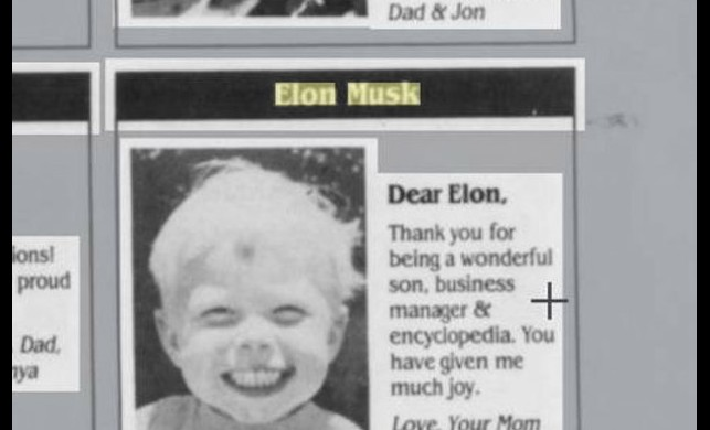 Annesinin Elon Musk için 25 yıl önce yayınladığı ilan ortaya çıktı