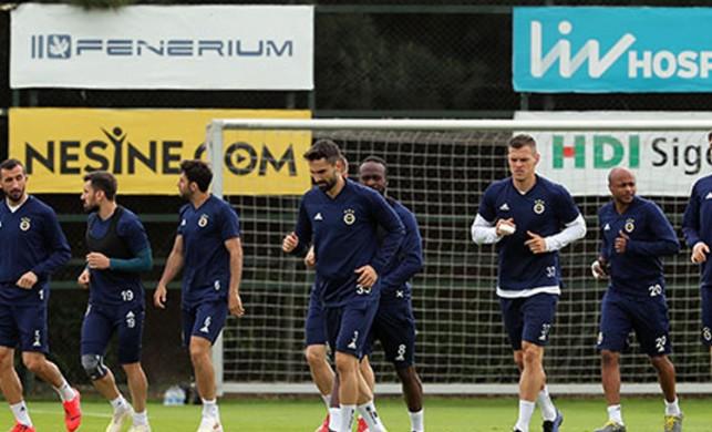 Fenerbahçe'de Akhisarspor maçı hazırlıkları sürüyor
