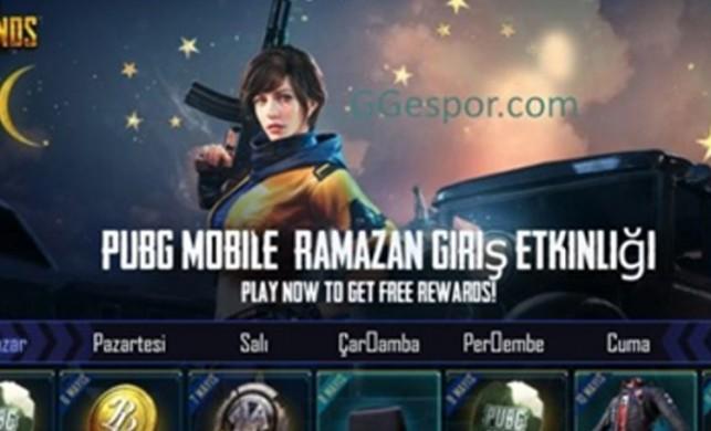 PUBG Mobile'da Ramazan boyunca muhteşem ödüller