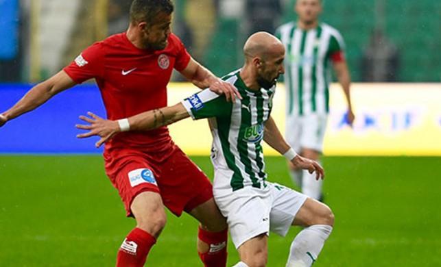 Bursaspor'u bekleyen tehlike!