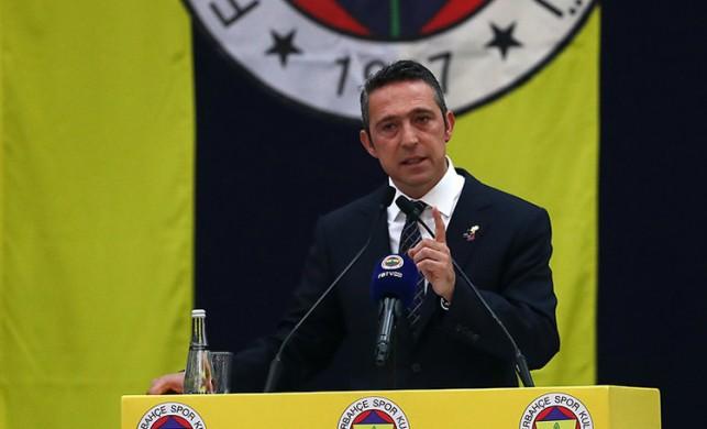 Fenerbahçe Başkanı Ali Koç'tan transfer açıklaması!