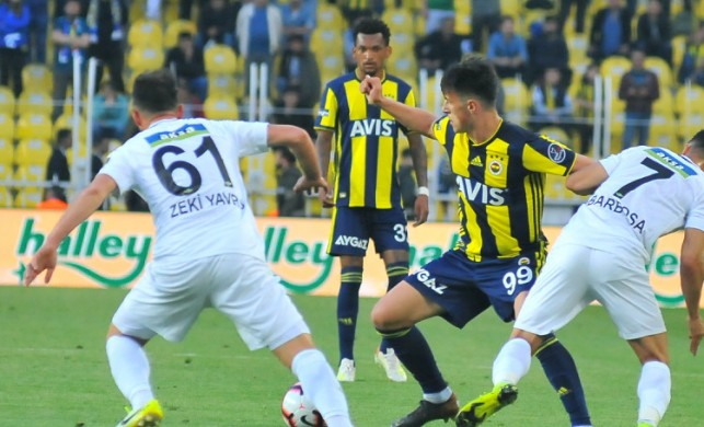 Fenerbahçe'ye kaybeden Akhisarspor lige veda etti!