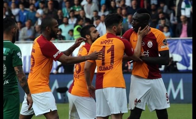 Galatasaray'da penaltı krizi! Sahada büyük gerginlik...